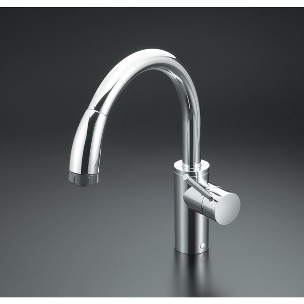 【送料無料】KVK KM708ZG 寒 流し台シャワー混合栓