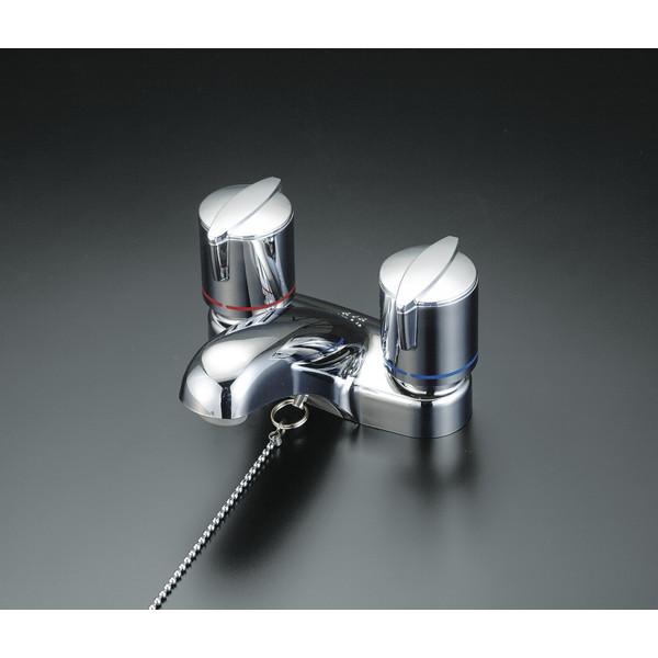 KVK KM66HPGB 洗面2ハンドル混合栓 ポップ式
