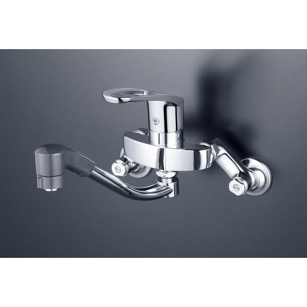 【送料無料】KVK KM5000TF シングルシャワー付混合栓