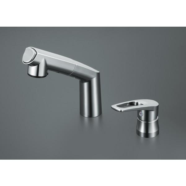 【送料無料】KVK KM5271ZTA 寒 洗面シングル 湯側規制