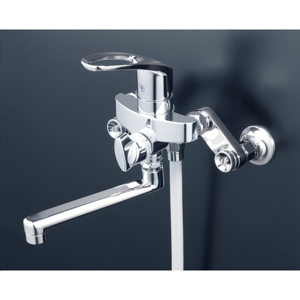 【送料無料】KVK KF5000THA 楽締ソケット付シングルシャワー