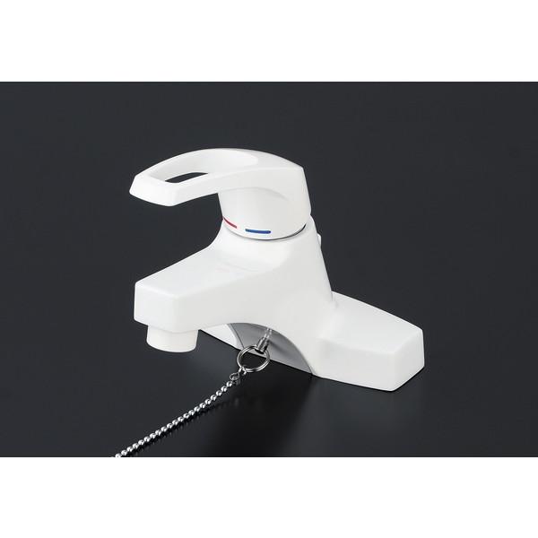 【送料無料】KVK KM7014ZHP 寒 洗面混合栓 ポップ