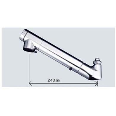【送料無料】KVK ZS202Z 寒 浄水器吐水パイプ13 1/2用