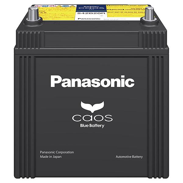 【送料無料】PANASONIC N-S42B20R/HV [国産車バッテリー カオス (ハイブリッド車用)]