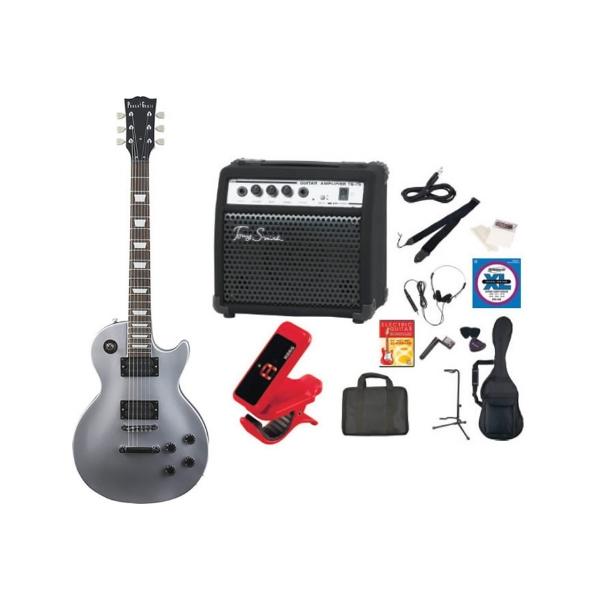 【送料無料】PhotoGenic LP-260/SV(TG75セット) [エレキギター TG75 アンプセット '13年始セット シルバー]