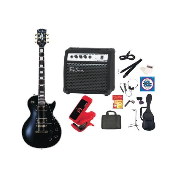【送料無料】PhotoGenic LP-300/BK(TG75セット) [エレキギター TG75 アンプセット '13年始セット ブラック]
