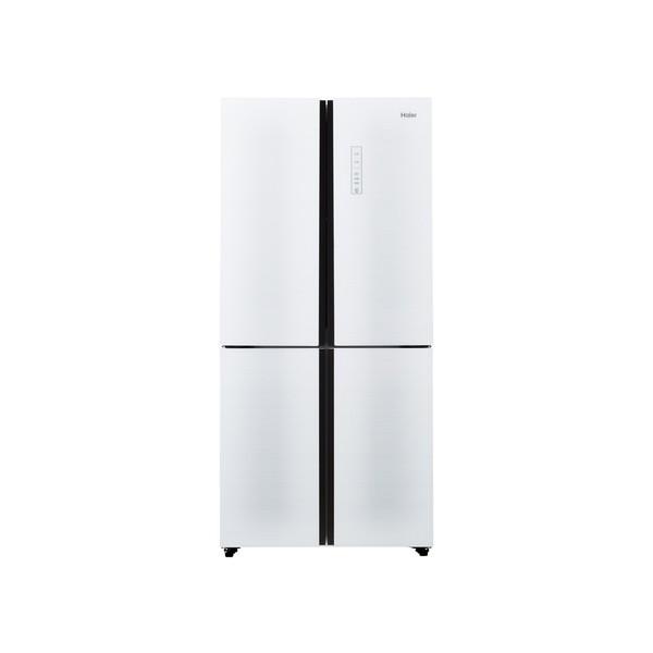 【送料無料】ハイアール JR-NF468A-W ホワイト [冷蔵庫 468L 4ドア フレンチドア]