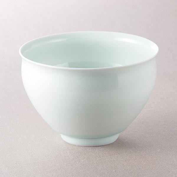 03001608 009-308M 有田焼 日展作家山口正右ヱ門作 抹茶碗
