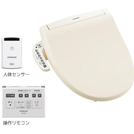 【送料無料】日立 HOB-5100 パステルアイボリー [温水洗浄便座(瞬間式)]