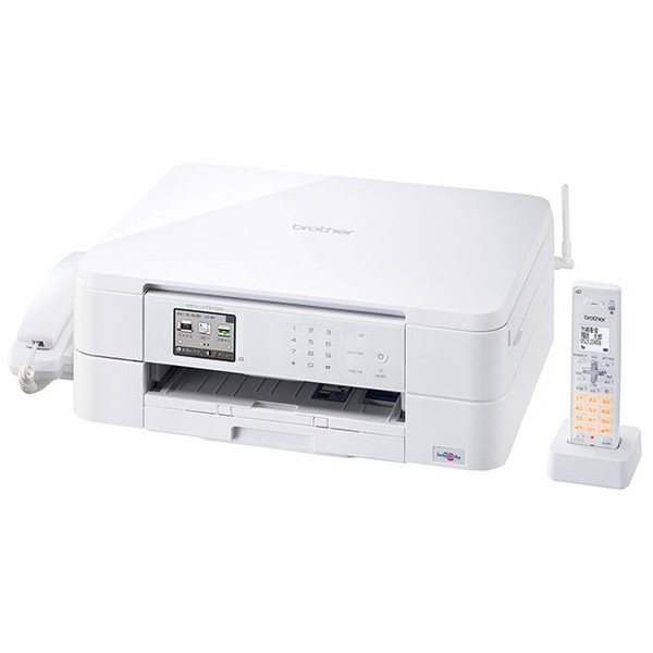 【送料無料】Brother MFC-J737DN ホワイト PRIVIO [A4インクジェット複合機 (コピー/スキャナ/FAX ※コードレス子機1台)]