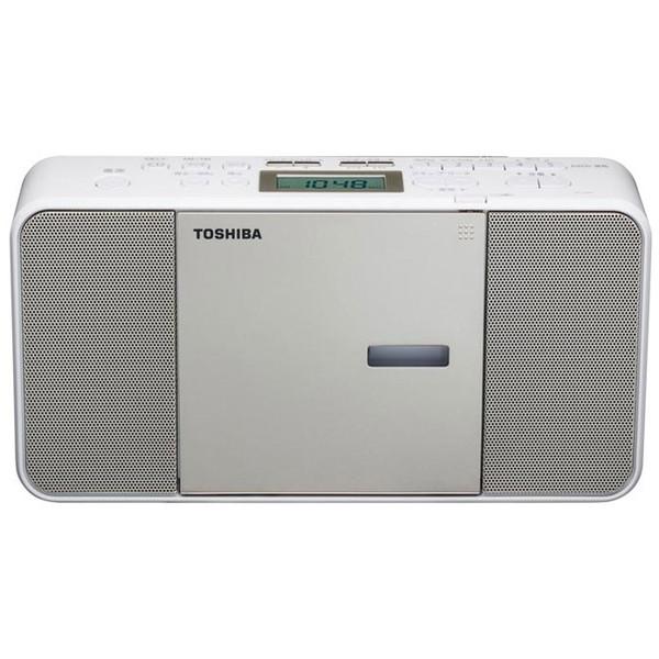 スリム コンパクトなのに音がいい 東芝 サテンゴールド 品質検査済 新作通販 CDラジオ TY-C300-N