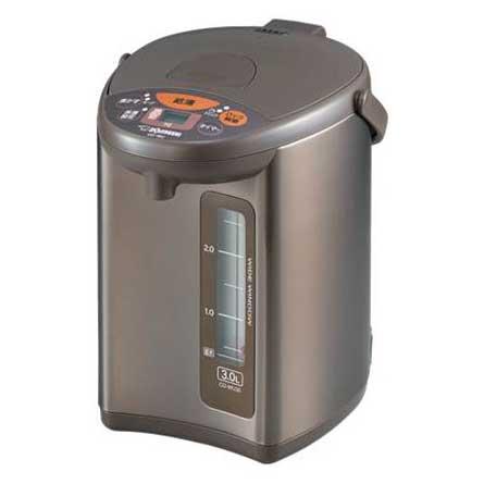 【送料無料】象印 CD-WU30-TM メタリックブラウン [マイコン沸とう電動ポット 3.0L]