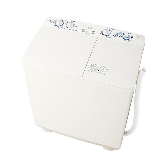 【送料無料】AQUA ホワイト AQW-N551-W AQW-N551-W ホワイト [2槽式洗濯機(5.5kg)], アタゴ:efda749f --- rakuten-apps.jp