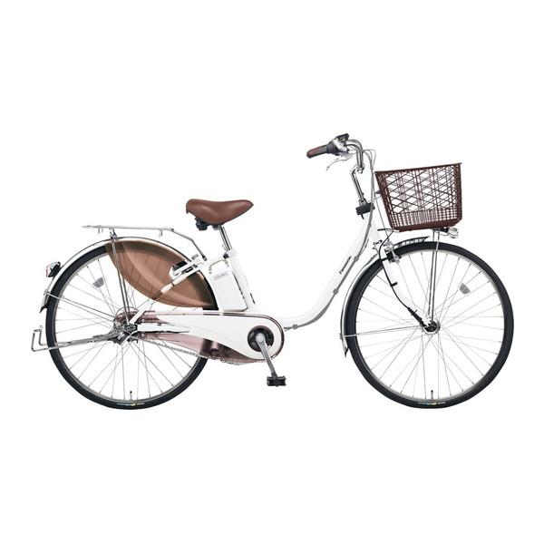 【送料無料】PANASONIC BE-ELE433-F ホワイトパールクリア ビビ・EX [電動自転車(24インチ・内装3段変速)]【同梱配送不可】【代引き不可】【本州以外の配送不可】