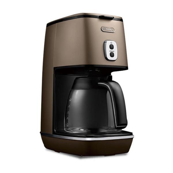 【送料無料】デロンギ(Delonghi) ICMI011J-BZ フューチャーブロンズ ディスティンタコレクション [コーヒーメーカー(~6杯)]