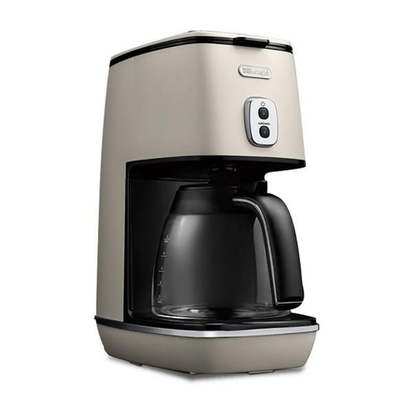 【送料無料】デロンギ(Delonghi) ICMI011J-W ピュアホワイト ディスティンタコレクション [コーヒーメーカー(~6杯)]