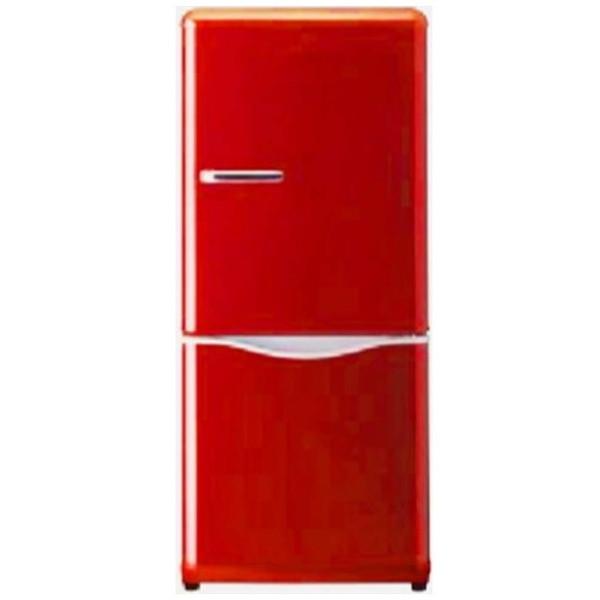 【送料無料】DAEWOO DR-C15AR レッド [冷蔵庫 (2ドア・右開き・150L)]