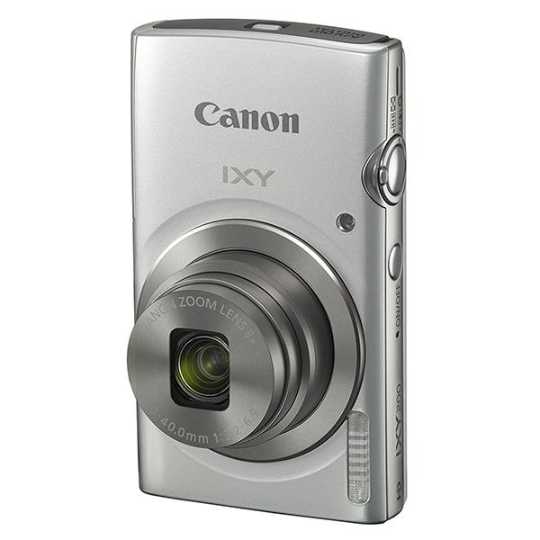 【送料無料】CANON IXY 200 シルバー [コンパクトデジタルカメラ(2000万画素)]【同梱配送不可】【代引き不可】【沖縄・離島配送不可】