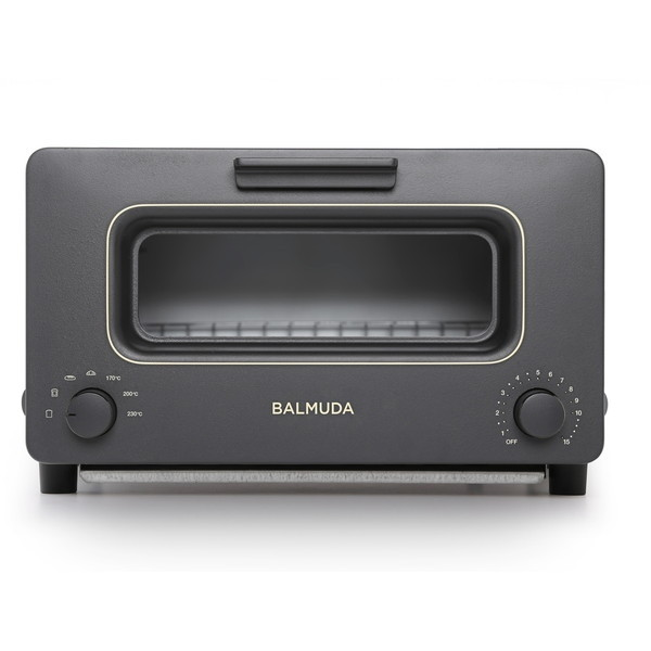 【送料無料】BALMUDA K01E-KG ブラック The Toaster [オーブントースター(1300W)]