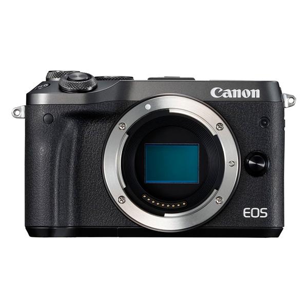 CANON EOS M6 ボディ ブラック [ミラーレスカメラ]