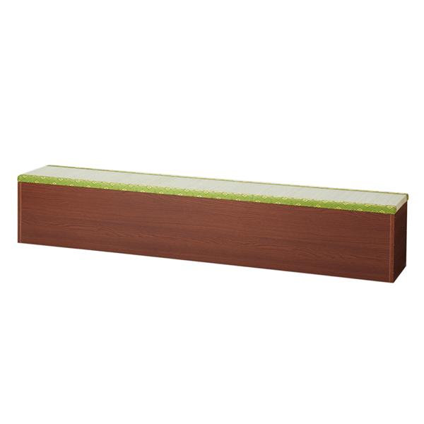 【送料無料】収納畳みベンチ 畳収納ボックス 和風 幅180cm
