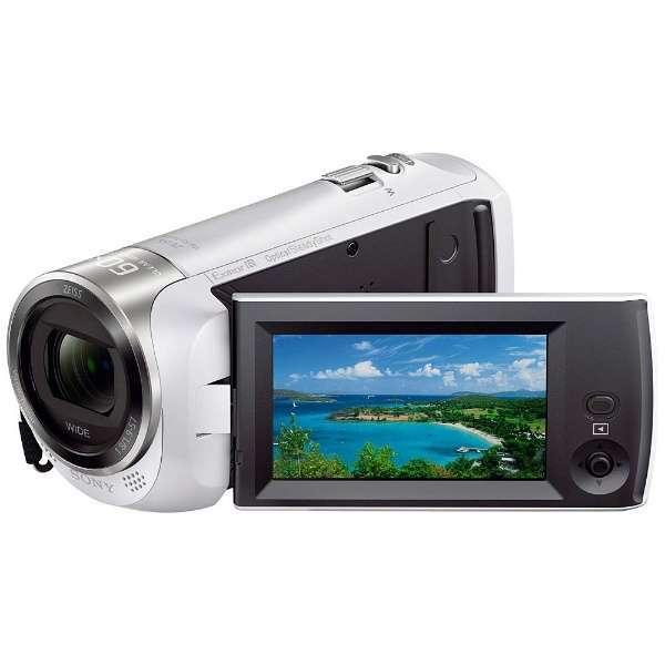ソニー (SONY) HDR-CX470 W ホワイト [デジタルHD ビデオカメラレコーダー] Handycam(ハンディカム)