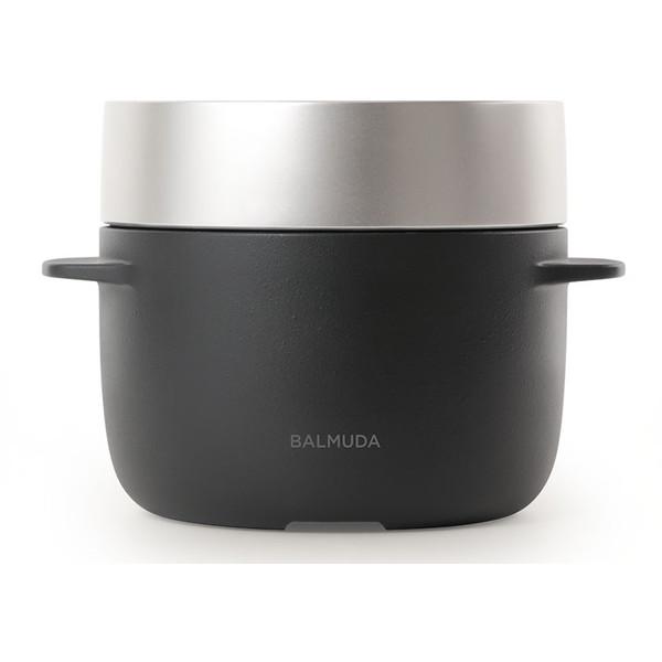 【送料無料】BALMUDA K03A-BK ブラック BALMUDA The Gohan (バルミューダ ザ・ゴハン) [炊飯器(3合炊き)]
