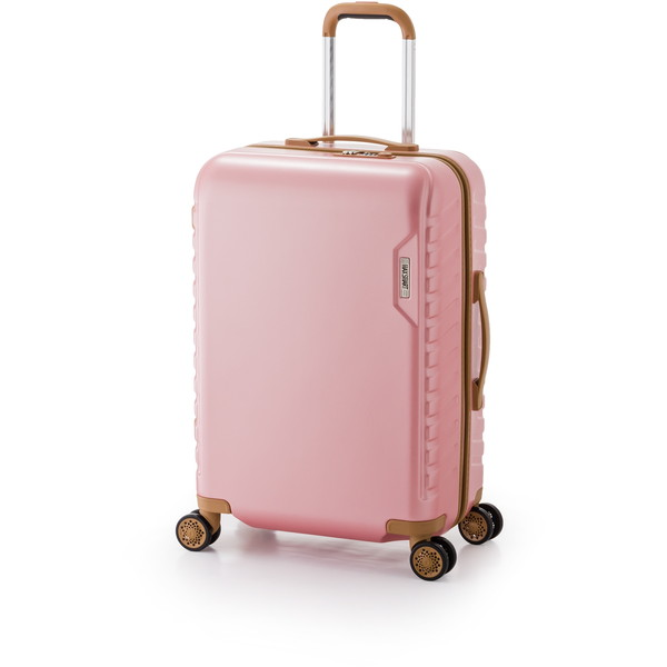 【送料無料】アジア・ラゲージ MS-202-25 ピンク マックススマート [スーツケース (50L/2~3泊)]
