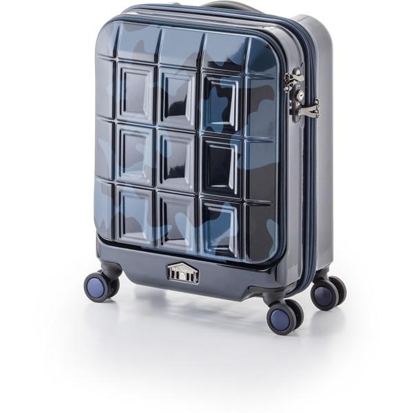 【送料無料】アジア・ラゲージ PTS-5005K ネイビーカモフラージュ パンテオン [スーツケース (32L/1~3泊)]
