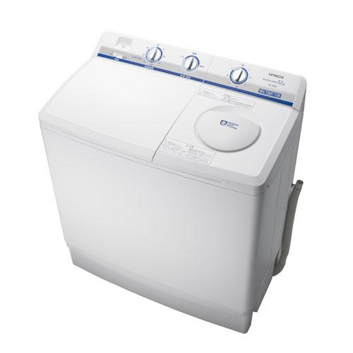 【標準設置無料】日立(HITACHI) 2槽式洗濯機 洗濯12kg ホワイト PS-120AW 【代引き・後払い決済不可】【離島配送不可】