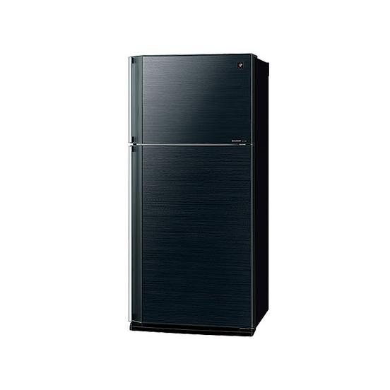 【送料無料】【標準設置無料】SHARP SJ-55W-B ブラック [冷蔵庫(545L・右開き)] 【代引き・後払い決済不可】【離島配送不可】