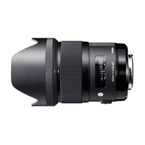 SIGMA 35mm F1.4 DG HSM ニコン用 [広角単焦点レンズ ニコンマウント]