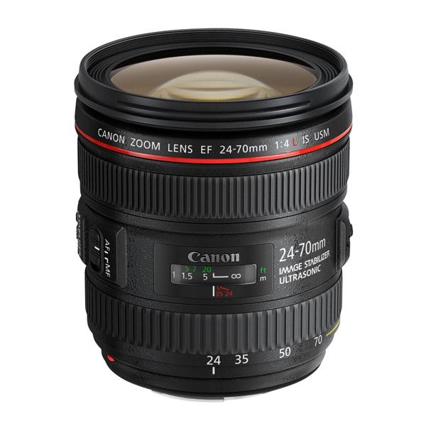 【送料無料】CANON EF24-70mm F4L IS USM [標準ズームレンズ]