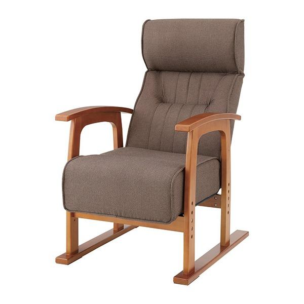 【送料無料】東谷 THC-106BR ブラウン クレムリン [キング高座椅子]◆代引き不可◆