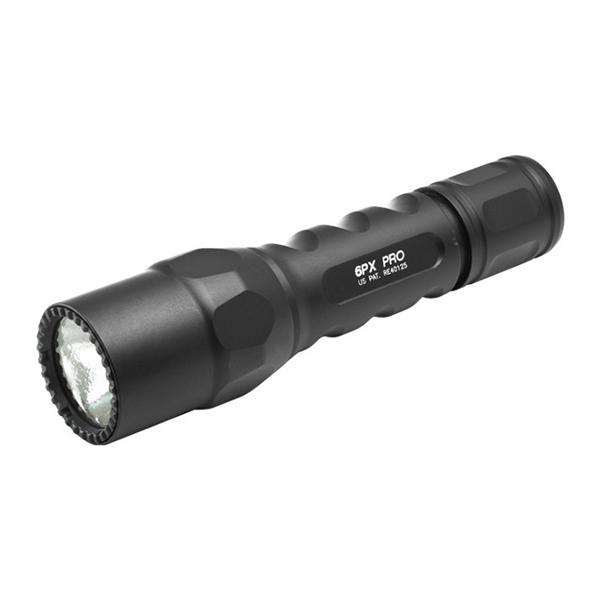 【送料無料】SureFire 6PX-D-BK ブラック 6PX プロ [LEDフラッシュライト(320lm)]