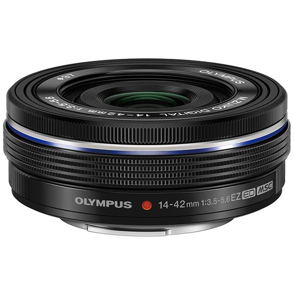 【送料無料】OLYMPUS ED 14-42mm F3.5-5.6 EZ(ブラック) [ズームレンズ(マイクロフォーサーズマウント)]