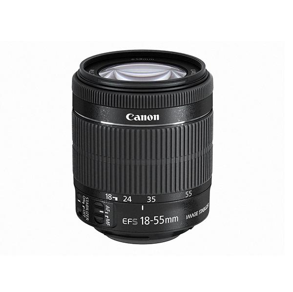 【送料無料】CANON EF-S18-55mm F3.5-5.6 IS STM [標準ズームレンズ]