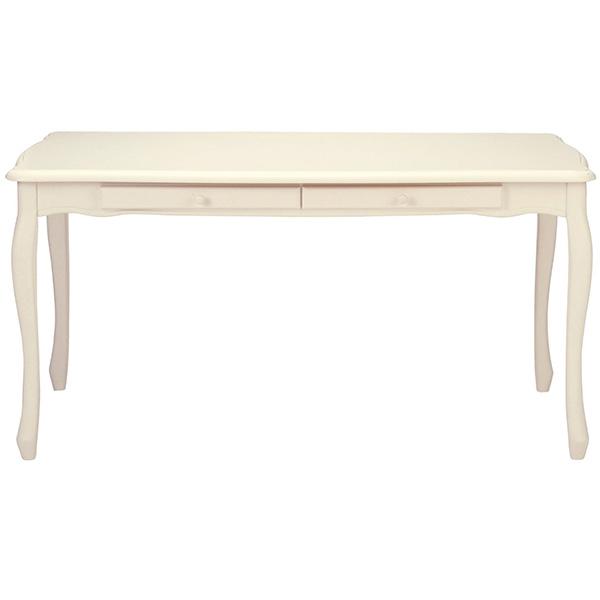 【送料無料】高梨産業 RD-T1575 ホワイト [猫脚ダイニングテーブル 150cm幅]