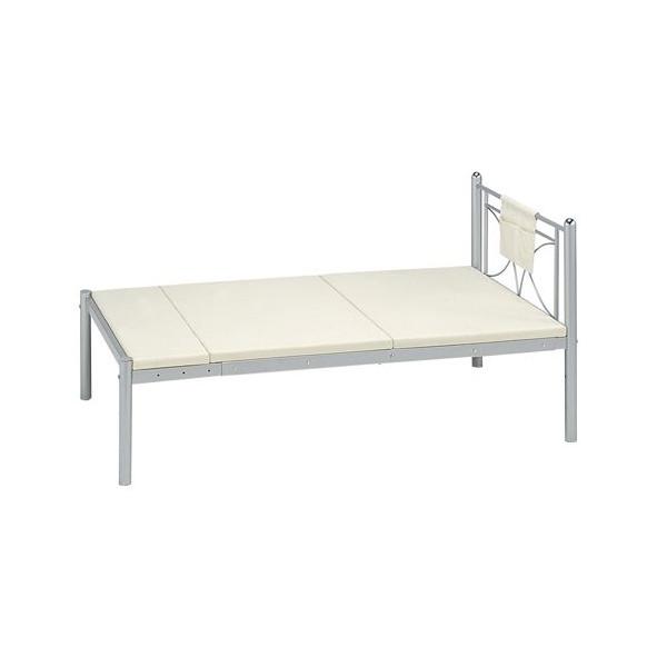 【送料無料】高梨産業 RB-B1521G シルバー のびのびベッド [シングルベッド]