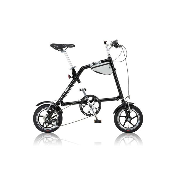 【送料無料】nanoo FD-1207 ブラック [折りたたみ自転車(12インチ・7段変速)] 【同梱配送不可】【代引き・後払い決済不可】【沖縄・北海道・離島配送不可】