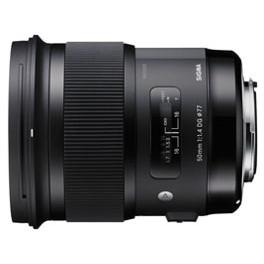 【送料無料】SIGMA 50mm F1.4 DG HSM(キヤノン用) [交換レンズ (キヤノンEFマウント)]