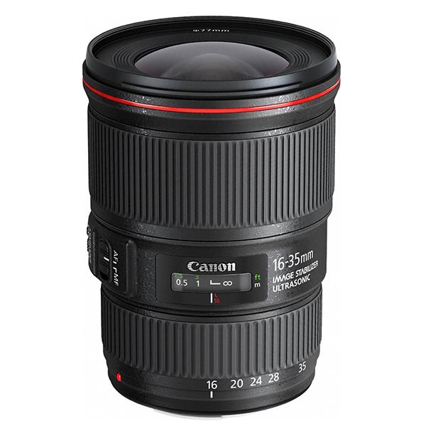 【送料無料】CANON EF16-35mm F4L IS USM [超広角ズームレンズ キヤノンマウント]