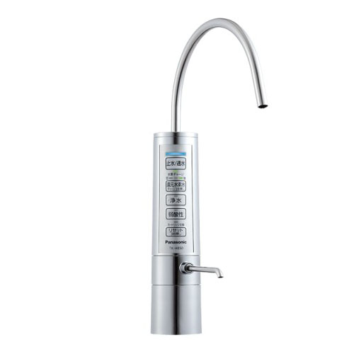 【送料無料】PANASONIC TK-HB50-S メタリックシルバー [還元水素水生成器(ビルトインタイプ)]