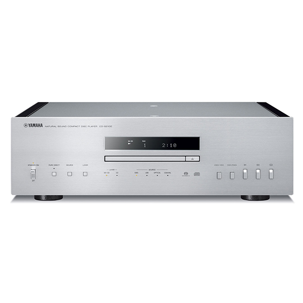 【送料無料】YAMAHA CD-S2100 シルバー/ピアノブラック [CDプレーヤー(ハイレゾ音源対応)]