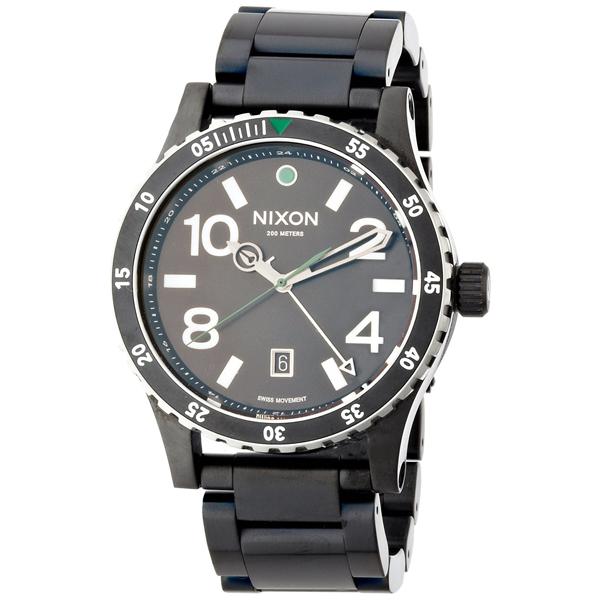 【送料無料】NIXON A2771421 ディプロマット SS オールブラック [腕時計] 【並行輸入品】
