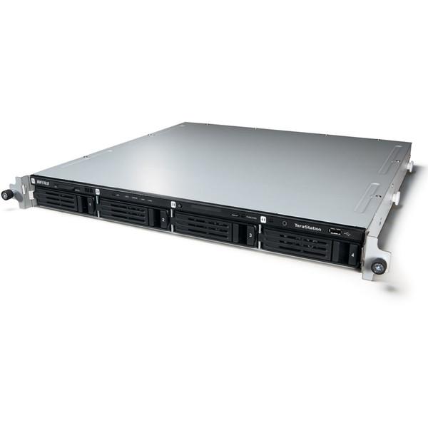 【送料無料】BUFFALO TS3400R0804 TeraStation 3400Rシリーズ(ラックマウントモデル) [RAID機能搭載 4ドライブ ネットワークハードディスク(NAS) 8.0TB] 【同梱配送不可】【代引き・後払い決済不可】【沖縄・離島配送不可】