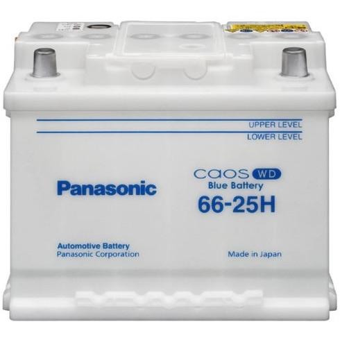 PANASONIC N-66-25H/WD ブルーバッテリーカオス WD [欧州車バッテリー]