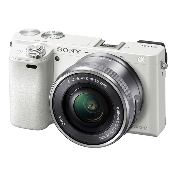 「16-50mm F3.5-5.6 OSS」付属のパワーズームレンズキット SONY ILCE-6000L パワーズームレンズキット ホワイト [デジタル一眼カメラ (2430万画素)]