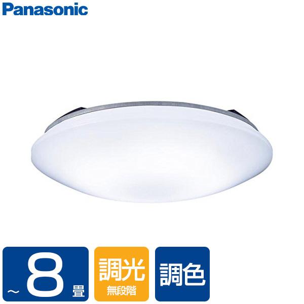 PANASONIC LSEB1069K [洋風LEDシーリングライト(~8畳/調色・調光)リモコン付き サークルタイプ カチットF]