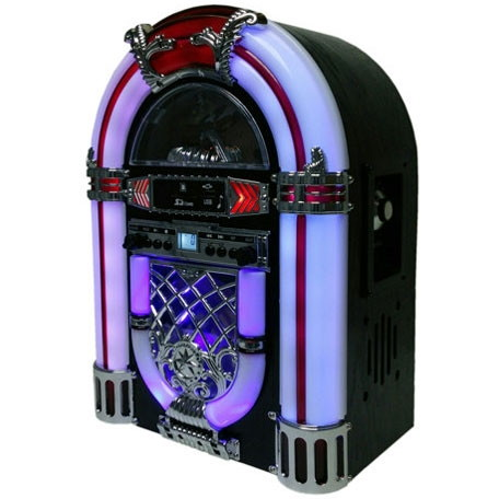 【送料無料】WINTECH/廣華物産 KBYL-05 ブラウン [ジュークボックス型CDラジオ]